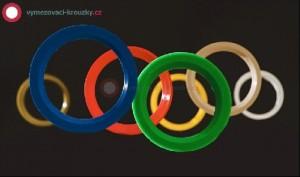 Plastové vymezovací kroužky